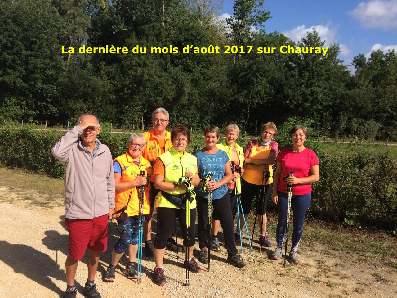 Chauray le jeudi 31 aout 2017