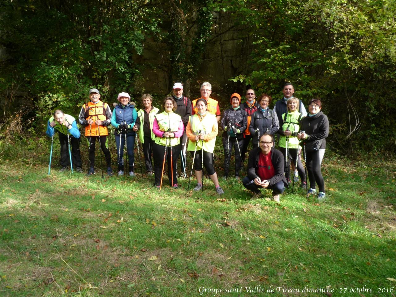 Groupe santé Vallée de Tireau dimanche  30 octobre  2016