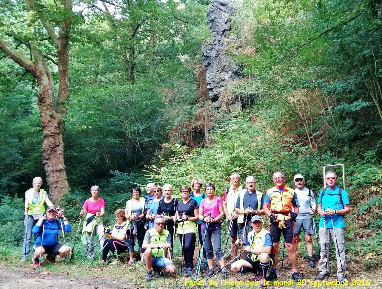 La Dame de Chambrille en Forêt de l'Hermitain mardi 20 Septembre