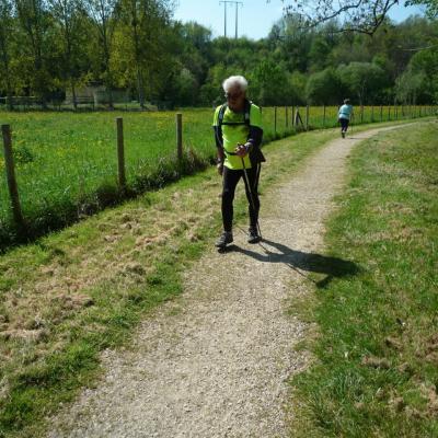 Séance de Marche Nordique circuit Chauray