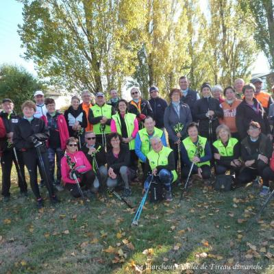 Vallée de Tireau dimanche  30 octobre  2016