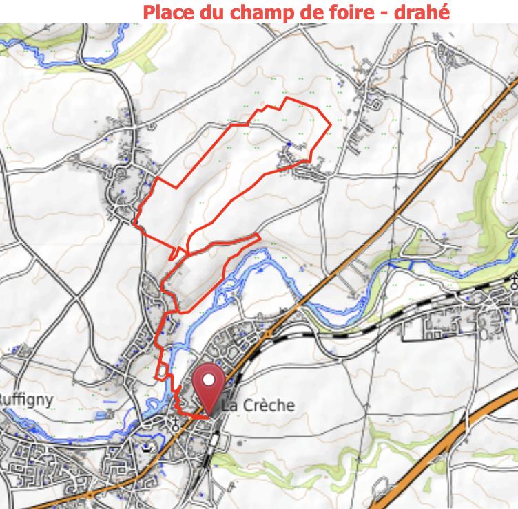 Champ de foire / Drahe - 664927