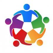 Depositphotos 126225512 stock illustration logo teamwork business people