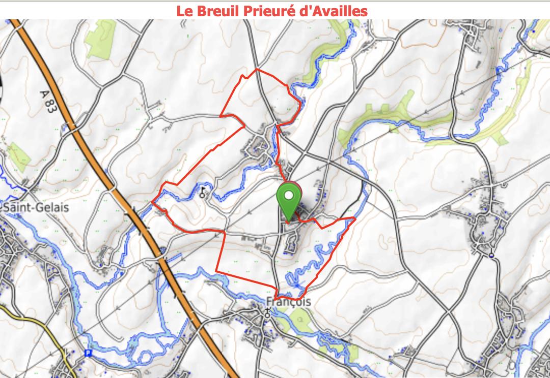Le Breuil / Prieuré d Availles -  848218